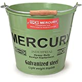 MERCURY マーキュリー ブリキバケツ ゴミ箱 KHAKI カーキ