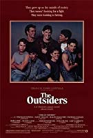 The Outsiders映画ポスター27x 40Patrick Swayze、トムクルーズ、A、Made in the U。S。A。