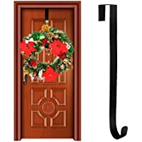 YIWA 15インチガーランドハンギングフック花輪ホルダーラック装飾アクセサリーホーム装飾
