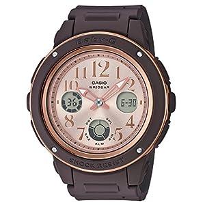 [カシオ]CASIO 腕時計 BABY-G ベビージー ネイビー&ブラウン BGA-150PG-5B1JF レディース
