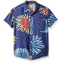 Quiksilver Boys' Big New Variable Short Sleeve Youth Woven
