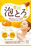 お湯物語 贅沢泡とろ 入浴料 ロイヤルハニーの香り 1包・30g