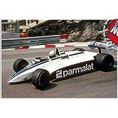 【TAMEO/タメオ 組立キット】1/43 ブラバム フォード BT49D モナコGP 1982 ウィナー R.パトレーゼ/N.ピケ