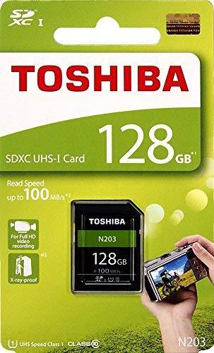 Toshiba 128GB N203 SDXC UHS - Iカード U1クラス10 SDカードメ