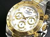 テクノス TECHNOS クロノグラフ 腕時計 TGM640TW