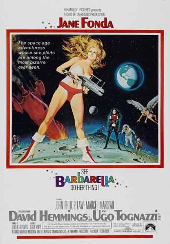 ポスター A4 パターンB バーバレラ (1968) 光沢プリント