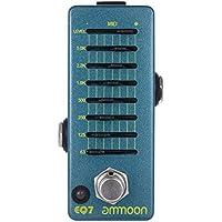 ammoon ギターイコライザー エフェクターペダル 7バンドEQ アルミニウム合金