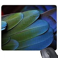 陸生生物の野生の鳥の羽 ノンスリップゴムパッドのゲームマウスパッドプレゼント事務所