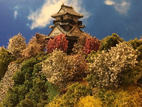 続 日本100名城 浜松城 お城 模型 ジオラマ完成品 A5サイズ