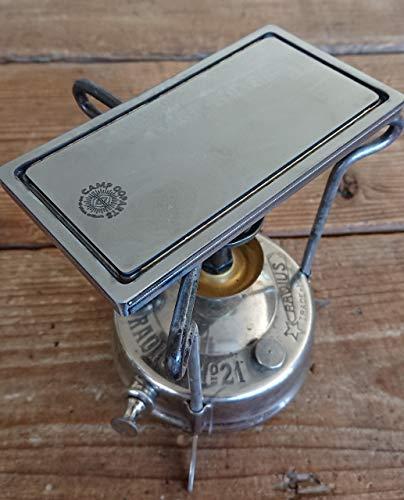 CAMPOOPARTS ソロキャンteppan 鉄板 ソロキャンプに最適携帯サイズ