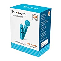 EasyTouch 830101 Twist Lancet, 100 Count by Easy Touch