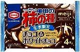 亀田製菓 亀田の柿の種チョコ&ホワイトチョコ 77g×12袋