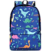 Cool Animal Pattern School Backpack for Students Kids Stylish Canvas Book Bag Rucksack