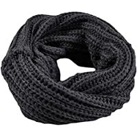 Cimaybeauty Knitted Winter Infinity Circle Wool Scarf Shawl Wrap Winter Warm Collar