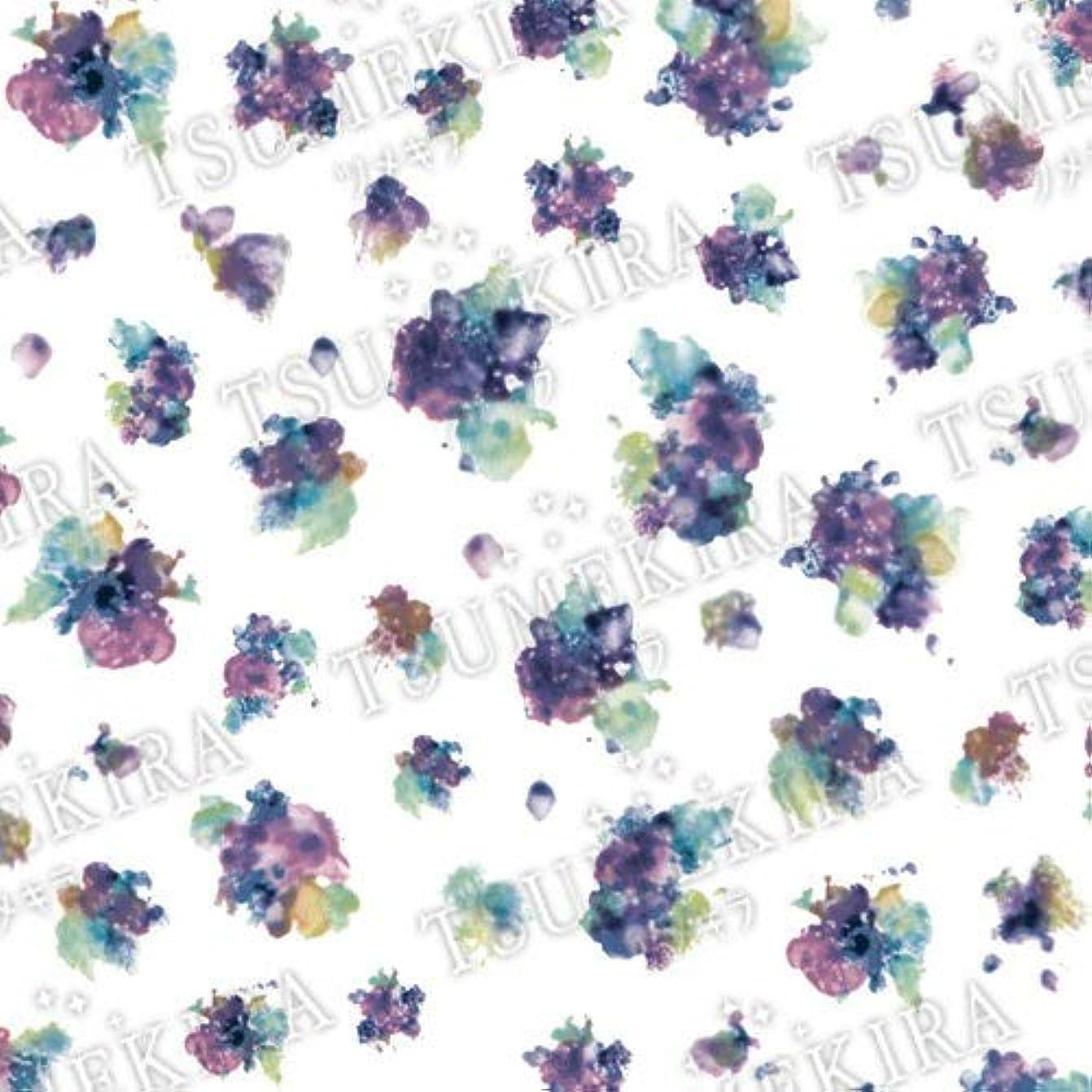 何か曲がった味TSUMEKIRA(ツメキラ) ネイルシール mi-miプロデュース1 Bouquet Bleu NN-MIM-103