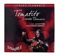 CUERDAS GUITARRA FLAMENCA - Savarez (T50R) Tomatito Tension Normal (Juego Completo)