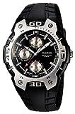 [カシオ]CASIO 腕時計 スタンダード スポーティデザイン MTR-302-1A1JF メンズ
