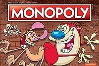 ニコロデオンシリーズRen & Stimpy ボードゲーム – The NickelodeonシリーズRen & Stimpieをベースにしたモンポリー・レン&スティンピーの公式ライセンス商品 – テーマクラシックモノポリーゲーム