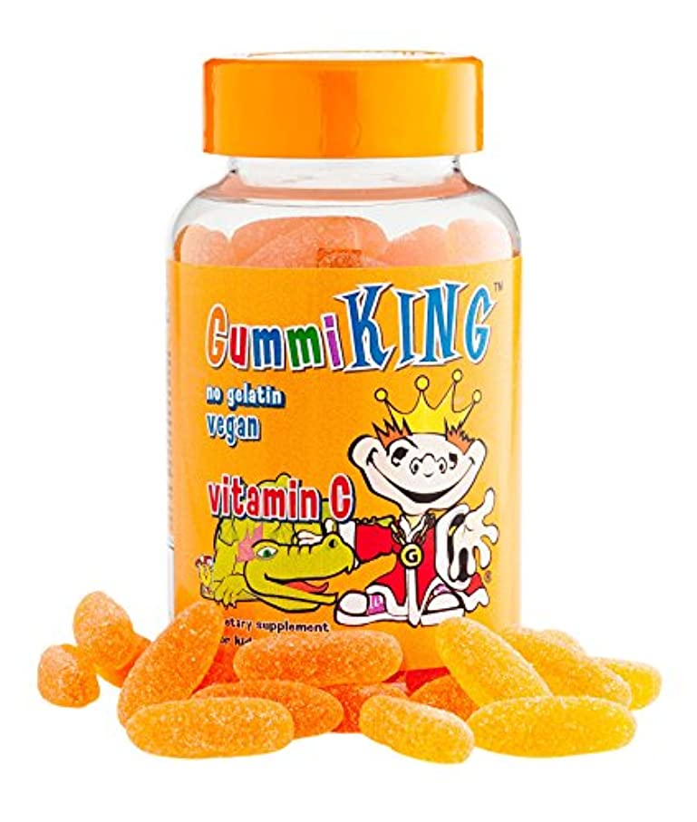 含む小競り合いアボートGummi King, Vitamin C for Kids, Natural Orange Flavor, 60 Gummies