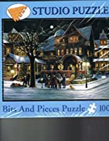 Bits and Pieces 1000 Piece Christmas Puzzle THe Carolers H. Hargrove by Bits and Pieces