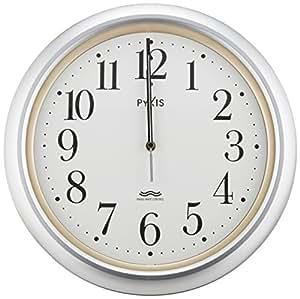 PYXIS (ピクシス) 掛け時計 アナログ 電波時計 NA205S