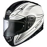 オージーケーカブト(OGK KABUTO)バイクヘルメット フルフェイス AEROBLADE3 LINEA (リネア) パールホワイト (サイズ:L)