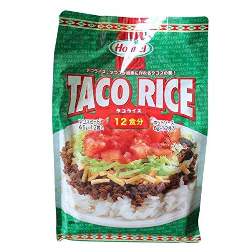 Taco Rice タコライスの素 12食分 Hormel(タコスミート65g×12袋・ホットソース6g×12袋) costco コストコ