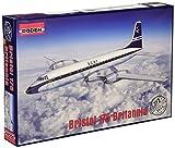 ローデン 1/144 英・ブリストル175ブリタニア・シリーズ300ターボープロップ旅客機 プラモデル