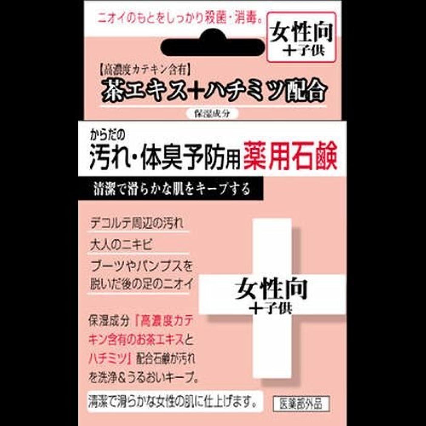 プログラム退院スキニー【まとめ買い】からだの汚れ?体臭予防薬用石鹸 女性向け 80g ×2セット