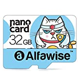【Amazon.co.jp限定】Alfawise A32 microSDカード32GB 超高速Class10 UHS-I 80MB/s  Nintendo Switch 動作確認済  Fire7/Fire HD 8/Fire HD 10/Huawei タブレット/Huaweiスマホー対応