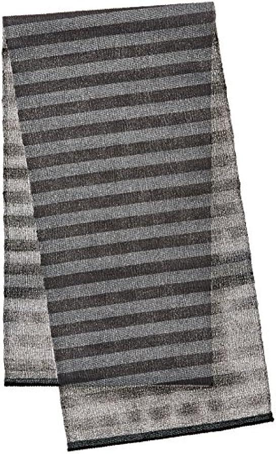 貝殻毛布モバイルオーエ FM ナイロンタオル LL 超かため ブラック