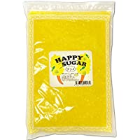 綿菓子用 カラーザラメ 1kg入 レモン