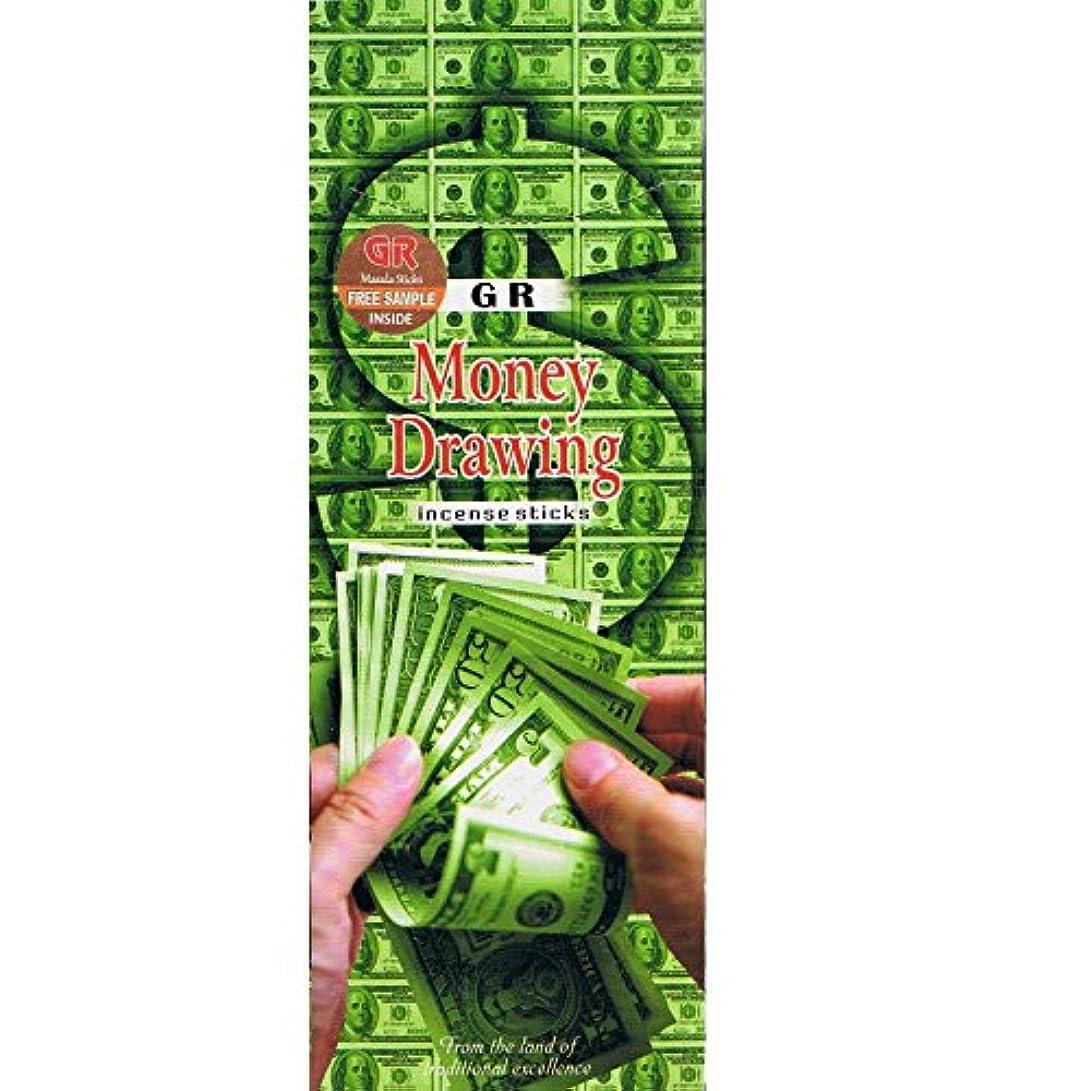 提唱するトリプル貫通Money drawing-120 Sticks