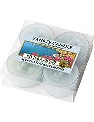ヤンキーキャンドル( YANKEE CANDLE ) YANKEE CANDLE クリアカップティーライト4個入り 「リビエラエスケープ」