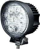 LED ワークライト 作業灯 狭角 集光型 27W 12V-24V対応 防水 車外灯 MINO Creates