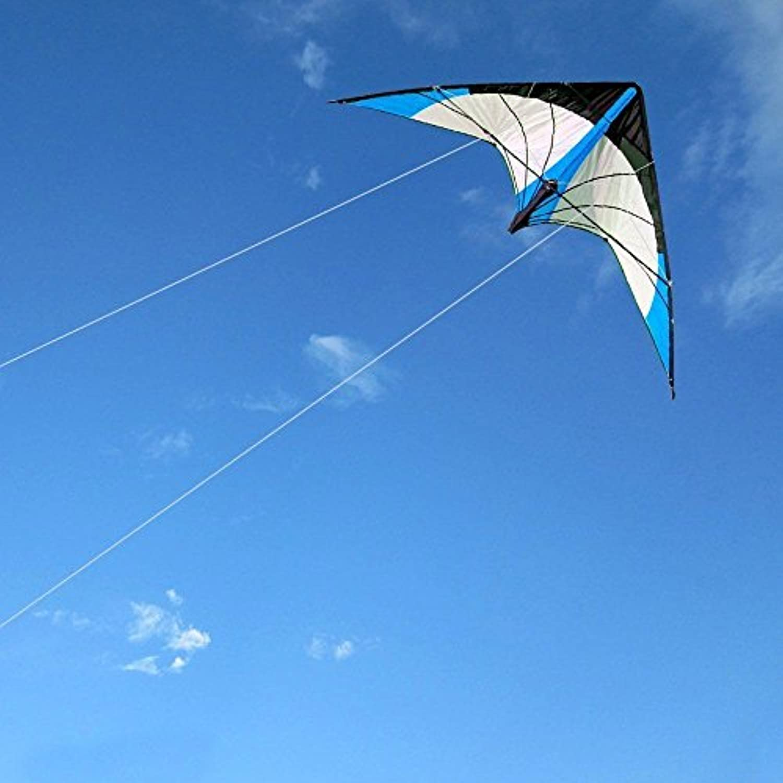 Kite折り畳みアウトドア楽しいスポーツDesigned Withファッションパターンには、美しいとクラシックFlies Steadily in the Breezeて簡単便利な使用