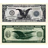 (5) Classic Billion Dollar Bill by The Cyber Mart Store [並行輸入品]