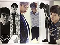 2PM ツーピーエム トゥーピーエム グッズ / A3 ポスター 12枚 + ステッカー シール 1枚セット - A3 Size Poster 12sheets + Sticker 1sheet [TradePlace K-POP 韓国製]