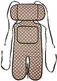 ベビーカー ベビーキャリー 保冷保温シート 綿100% ひえぽかサポートクッション 保冷(保温)剤2個付き クッション エルゴ (カフ..
