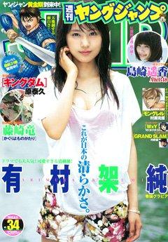 週刊ヤングジャンプ 2013年No.34号(2013年8月8日号 通巻No.1642号)有村架純 (ヤンジャン バックナンバー)
