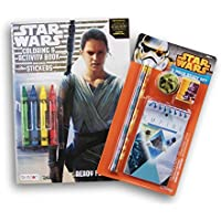 STAR WARS Coloring Book and Study Set withクレヨン
