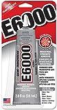 驚くべき E6000 多用途接着剤 2 オンス