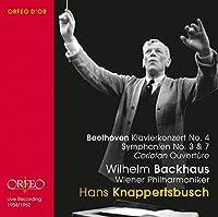 Beethoven:Piano Concerto No. 4 [Wilhelm Backhaus; Wiener Philharmoniker, Hans Knappertsbusch] [Orfeo D'Or: C901162B] by Wilhelm Backhaus (2016-05-07)