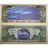 Set of 10 Bills-Dolphin Million Dollar Bill by Novelties Wholesale [並行輸入品]