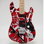 [Musical Story] Special Class ミニチュア ギター 模型 ヴァン ヘイレン フランケン ストラト 5150 スタイル