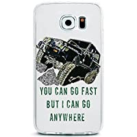 PRANA TPU Case for Galaxy S7 Edge Jeep Offroad Quote [並行輸入品]