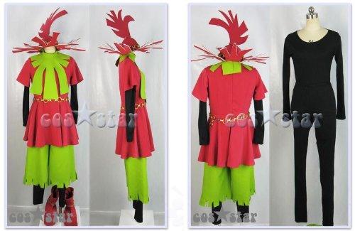 ゼルダの伝説 ムジュラの仮面 スタルキッド風 コスプレ衣装 男女XS-XXXL オーダーサイズも対応可能