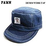 (パウン) PAWN DENIM WORK CAP キャップ 帽子 ワークキャップ デニムキャップ