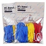 アックスコーポレーション N's Band 結束用バンド A-NB-BYR×2P 3色 ポリウレタン 2袋セット