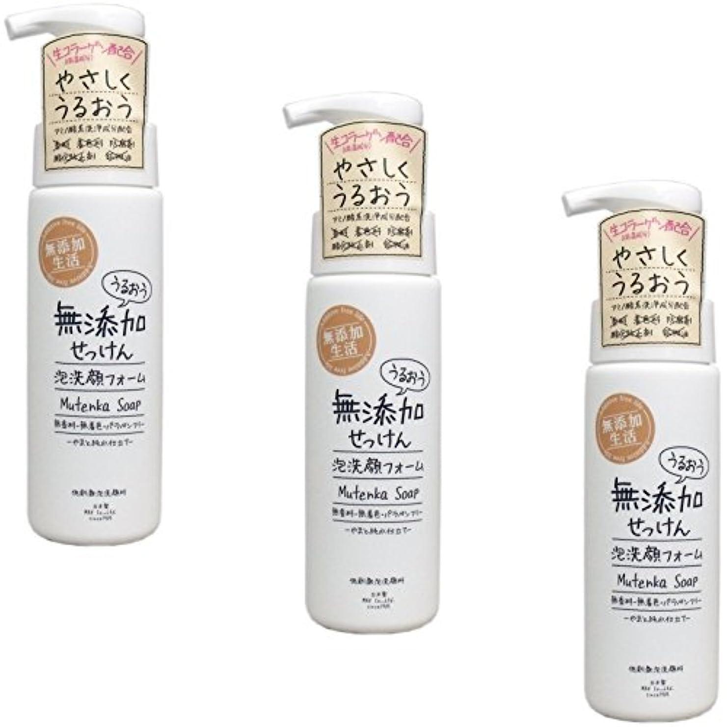中庭韓国マインド【まとめ買い】うるおう無添加泡洗顔フォーム 200mL【×3個】